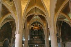 圣马克` s教会在萨格勒布 免版税库存图片