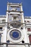 圣马克` s Clocktower 库存图片