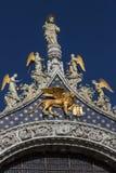 圣马克& x27; s大教堂-威尼斯-意大利 免版税库存照片