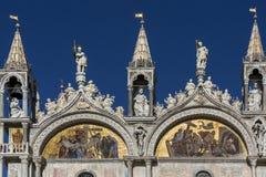 圣马克& x27; s大教堂-威尼斯-意大利 免版税库存图片