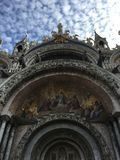 圣马克& x27; s大教堂 库存照片