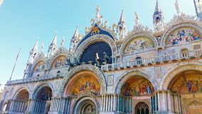 圣马克s大教堂 库存图片