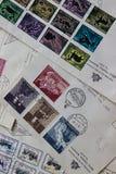 圣马力诺邮票 免版税库存图片