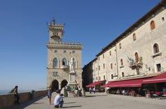 圣马力诺 免版税库存图片