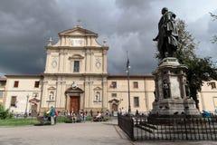 圣马可广场在佛罗伦萨 库存照片