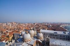 圣马可广场在威尼斯 免版税库存图片