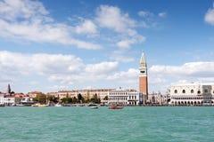 圣马可广场威尼斯 免版税库存照片