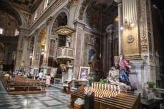 圣马尔塞洛Al Corso教会在罗马 免版税库存照片