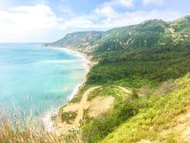 圣马特奥,厄瓜多尔的海岸 图库摄影