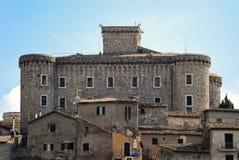 圣马球dei Cavalieri城堡  免版税图库摄影