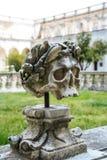 圣马蒂诺修道院淡黄绿在那不勒斯 免版税库存照片