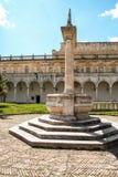 圣马蒂诺修道院淡黄绿在那不勒斯 库存图片