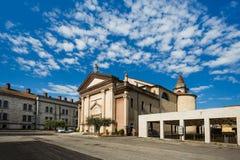 圣马蒂诺教会 库存照片