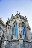 圣马赛厄斯教会Mà ¡ tyà ¡ s-templom塔  免版税库存图片