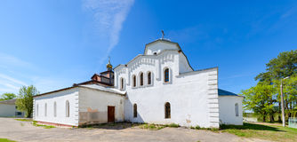圣洁了不起的受难者和愈疗者Panteleimon,维帖布斯克地区,白俄罗斯教会  免版税库存照片