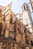 圣洁交叉和圣徒尤拉莉亚的大教堂 (简单的梯度-仅没有梯度滤网 免版税库存照片
