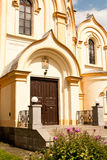 圣洁传道者彼得和保罗的教会 Luban列宁格勒地区俄罗斯 图库摄影