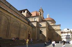 圣洛伦佐教会  免版税库存图片