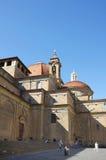 圣洛伦佐教会 库存照片
