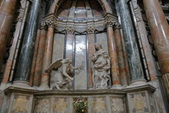 圣洛伦佐,都灵,意大利皇家教会  库存图片
