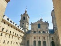 圣洛伦佐del埃斯科里亚尔修道院 图库摄影