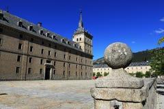 圣洛伦索德埃莱斯科里亚尔皇家站点是西班牙的国王的一个历史住所 库存图片