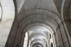 圣洛伦索德埃莱斯科里亚尔皇家站点是西班牙的国王的一个历史住所 图库摄影