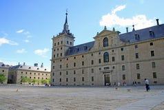 圣洛伦索德埃莱斯科里亚尔皇家站点,西班牙的国王的一个历史住所 免版税库存照片