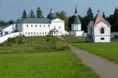 圣洁公正的詹姆斯Borovichskye的教会 免版税图库摄影