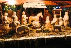 圣洁系列 外面圣诞节装饰 库存照片