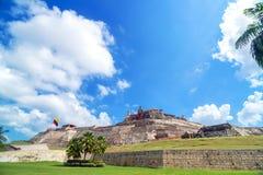 圣费利佩de巴拉哈斯城堡 库存图片