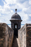 圣费利佩del Morro城堡 库存照片