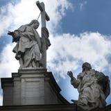圣洁十字架的大教堂在耶路撒冷 库存图片