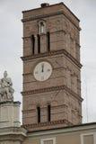 圣洁十字架的大教堂的Belltower在耶路撒冷 库存照片