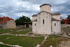 圣洁十字架的教会 库存照片