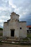 圣洁十字架的教会 库存图片