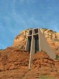 圣洁十字架的教堂在Sedona,亚利桑那 免版税库存照片