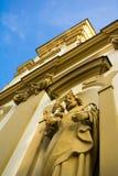 圣洁十字架,切申,波兰教会  免版税库存图片