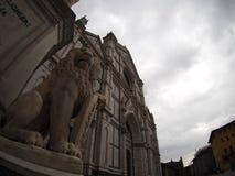 圣洁发怒大教堂,佛罗伦萨 免版税库存图片