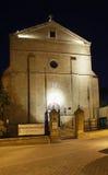 圣洁发怒天主教会在尼科西亚 塞浦路斯 库存照片