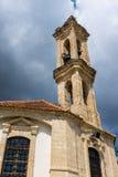 圣洁发怒Omodos塞浦路斯的教会 免版税库存照片