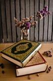 圣洁古兰经 免版税库存照片