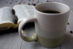 圣经咖啡豆 图库摄影
