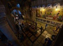 圣洁坟墓的教会,以色列 库存图片