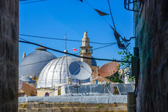 圣洁坟墓,耶路撒冷的教会 免版税库存照片