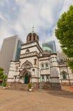 圣洁复活大教堂(Nikorai, 1891)在东京,日本 免版税库存图片