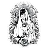 圣洁妇女 皇族释放例证