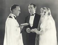 圣洁婚姻 免版税库存照片