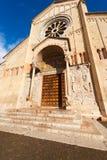 圣・季诺・维罗纳-意大利的大教堂 库存照片