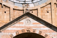 圣・季诺・维罗纳-意大利的大教堂 库存图片